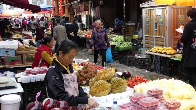 Les rues à Kunming